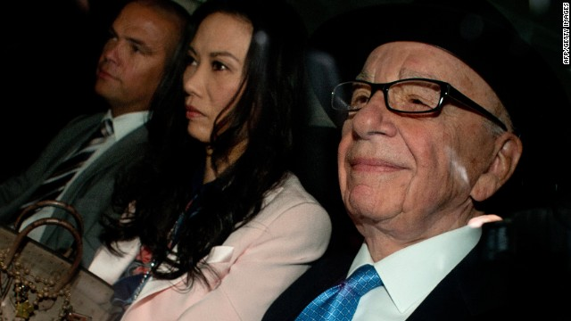 Rupert Murdoch admits hacking cover-up