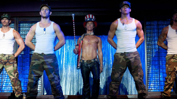 """""""Magic Mike"""" may just draw in a few female viewers this weekend."""