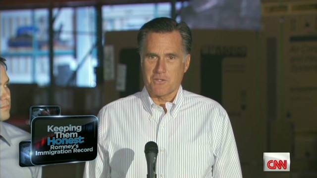 Romney's stance on immigration issues
