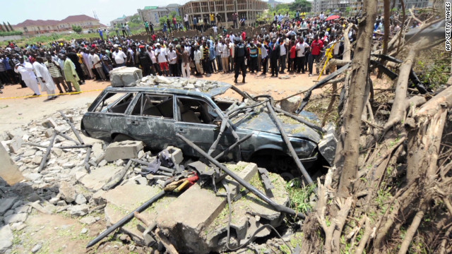 Bombs target newspapers in Nigeria