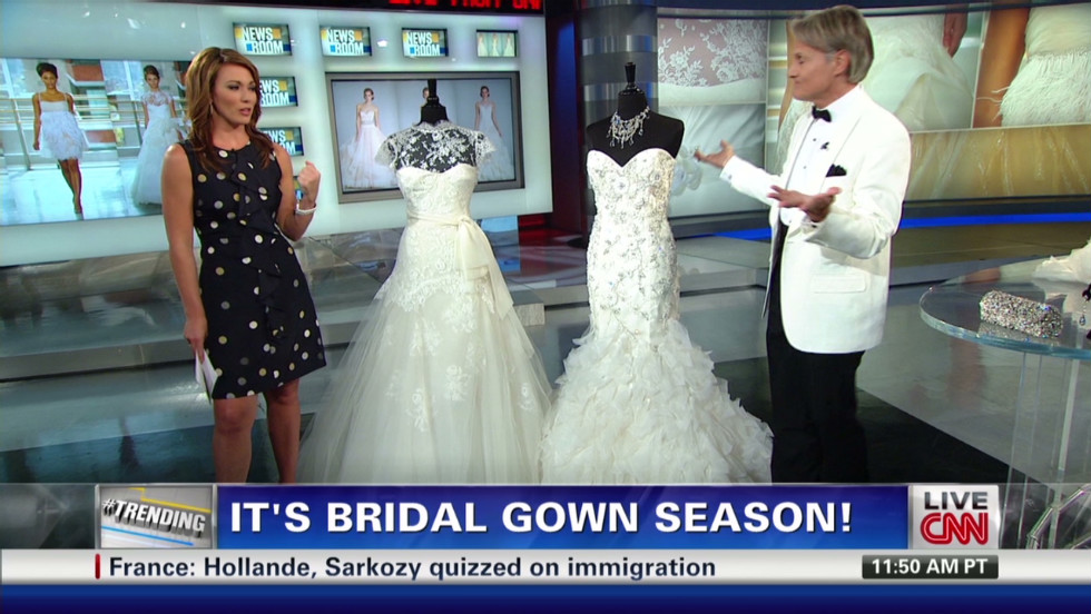 Wedding Dress Styles For Angelina Jolie Cnn Video