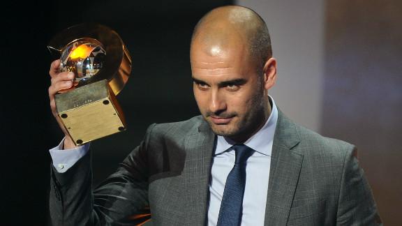 Guardiola won the FIFA Men