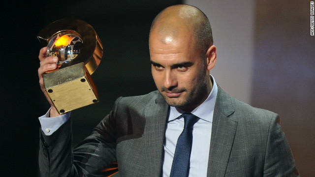 Successful sports coaches show behavior is not a defensive tactic, says Dov Seidman. Pictured, former Barcelona coach Josep Guardiola.