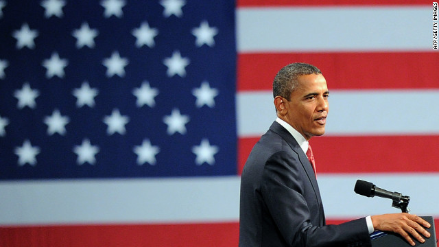 President Obama speaks during a campaign event at the Washington Convention Center last week.
