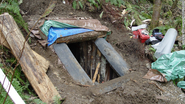 Detectives say they think Keller had been building the bunker for at least eight years.