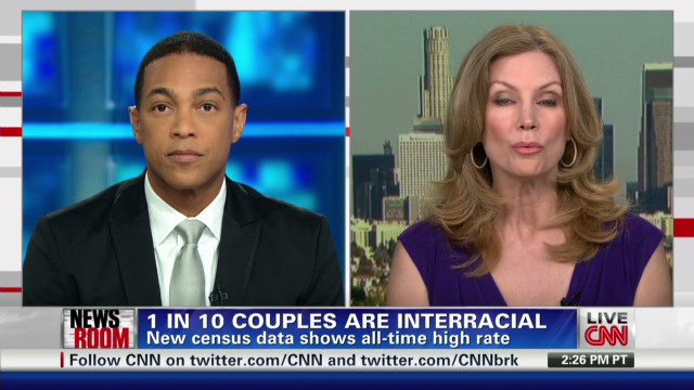 1 In 10 couples interracial