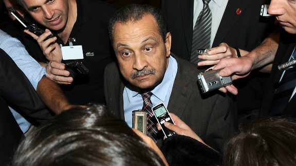 A May 27, 2009, file photo shows Libyan Oil Minister and chairman of Libya