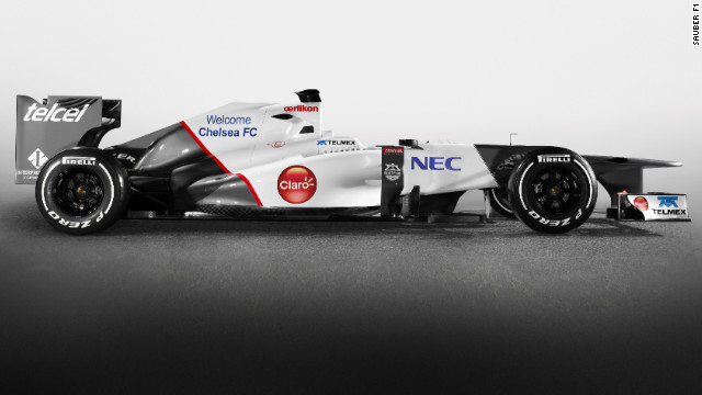 The new Sauber cars with Chelsea FC branding will be revealed at the Spanish Grand Prix.