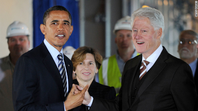 Mutual interest has pushed President Obama and former President Clinton together, says Michael Takiff.