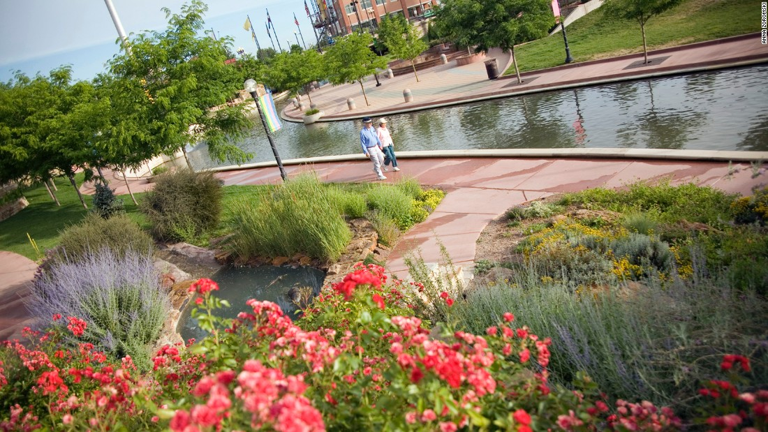 <strong>Pueblo, Colorado: </strong>The Historic Arkansas Riverwalk brought the river back to the heart of downtown Pueblo after it was diverted in the 1920s.