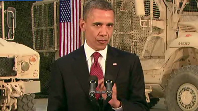 Obama: Afghans responsible for security
