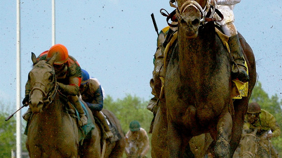 """Borel also crossed the finish line first on Super Saver in 2010. The sight of him hugging the rail is so familiar that fans know him as """"Calvin Bo-Rail"""" -- while Kentucky Derby race caller Mark Johnson has nicknamed him """"The Paint Stripper."""""""
