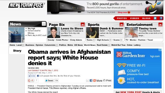 Takedown: How the media almost blew Obama's secret trip to