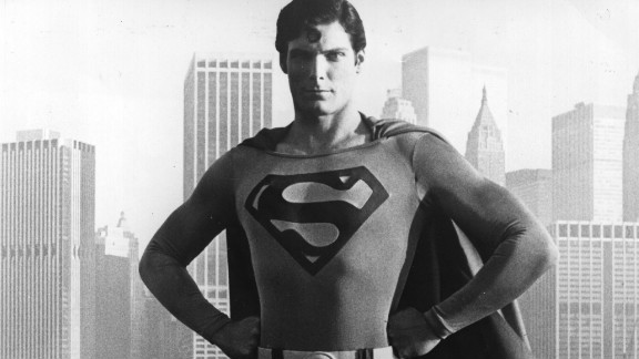 The late Christopher Reeve wore the red cape in 1978