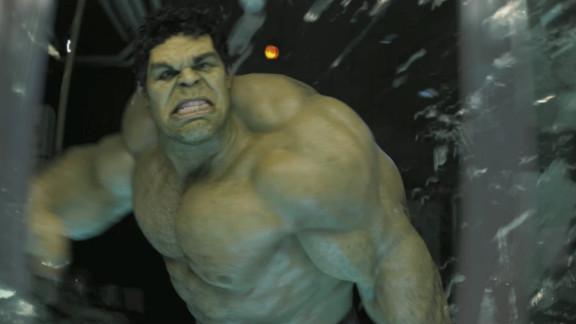 Mark Ruffalo got to wear the Hulk