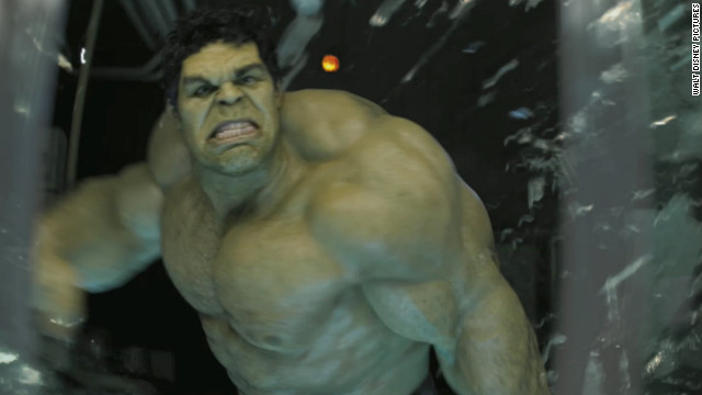 We're not sure how the real Hulk types, but Drunk Hulk is all-caps all the time.
