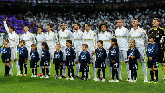 Spanish football teams continued to dominate the rankings, with Real Madrid keeping its No. 2 spot. It