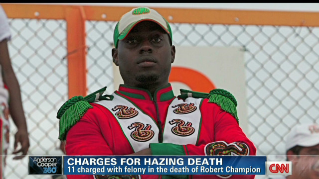 Charges in alleged hazing death at FAMU
