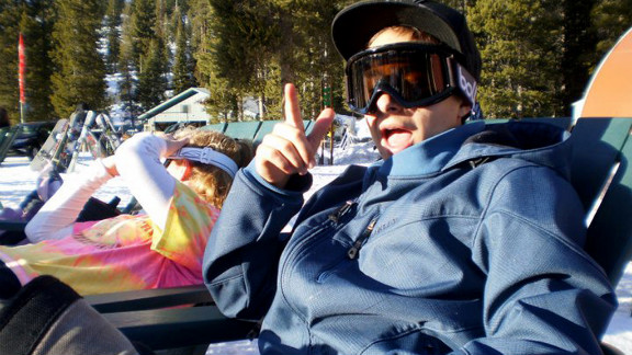 Ryan loved snowboarding, his dad says, and the family often went on trips that included outdoor adventures.