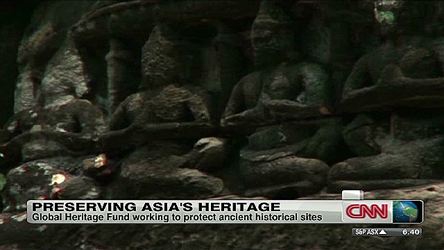 Saving Asia's ancient heritage sites