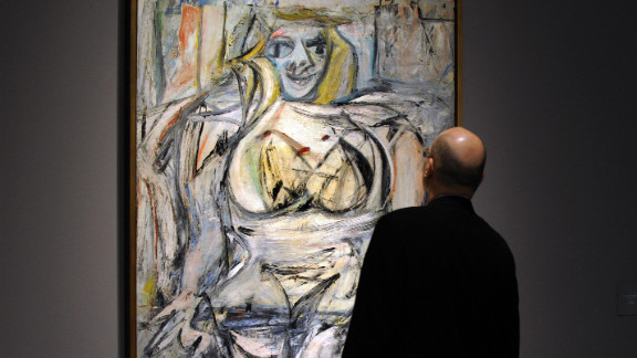 """Billionaire Steven A. Cohen privately purchased """"Woman III"""" by Willem de Kooning for an estimated $137.5 million, The New York Times reported in 2006."""