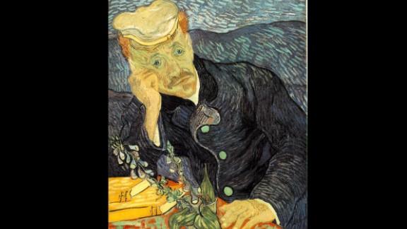 """""""Portrait du Dr. Gachet"""" by Vincent van Gogh sold for $82.5 million in 1990."""
