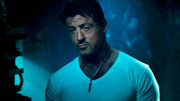 """Sylvester Stallone stars in """"The Expendables 2."""""""