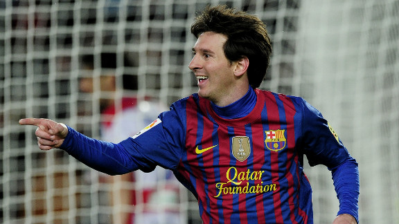 Barcelona may have lost the Spanish title after a three-year reign, but Lionel Messi broke Gerd Muller