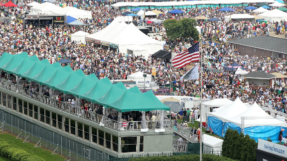 Aristides won in front of an estimated crowd of 10,000.  Almost 140 years later, more than 100,000 people are expected to flock to Churchill Downs for a chance to be a part of America