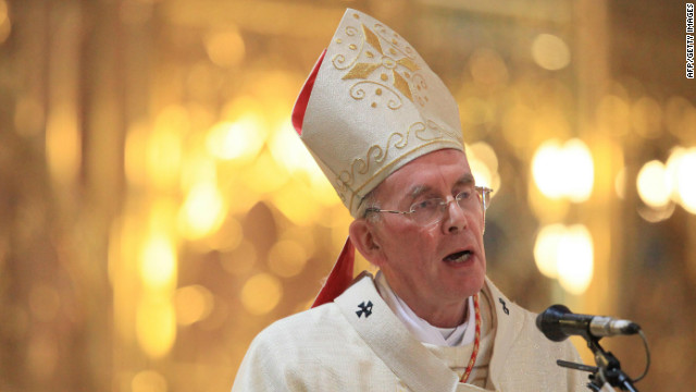 Cardinal Sean Brady, Ireland's top Roman Catholic cleric, insists he does not plan to step down.