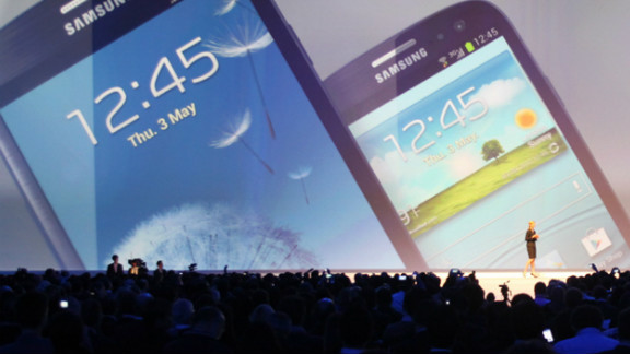 The iPhone's main competitor, Samsung's Galaxy S III, is larger and faster. And it includes hip features. For one: It switches to silent mode if placed face down on a table.