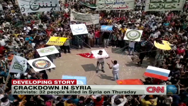 Crackdown in Syria