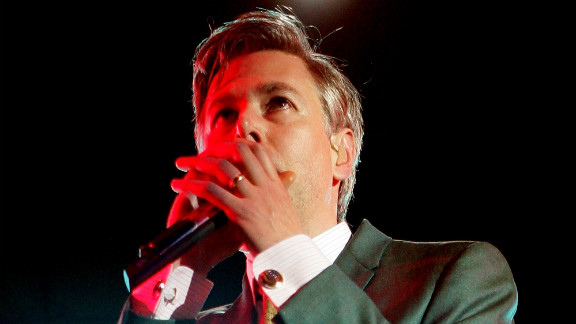 Yauch performs with the Beastie Boys at the Melbourne, Australia, stop of the Good Vibrations Festival 2007.