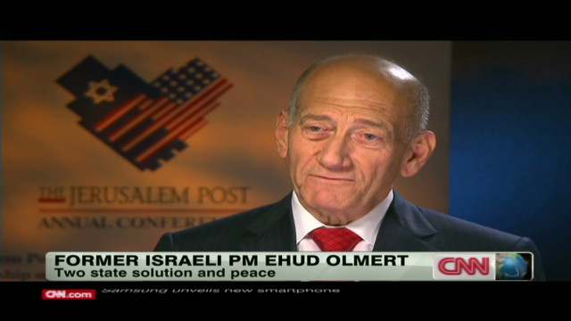 Olmert: Right-wing dollars killed peace