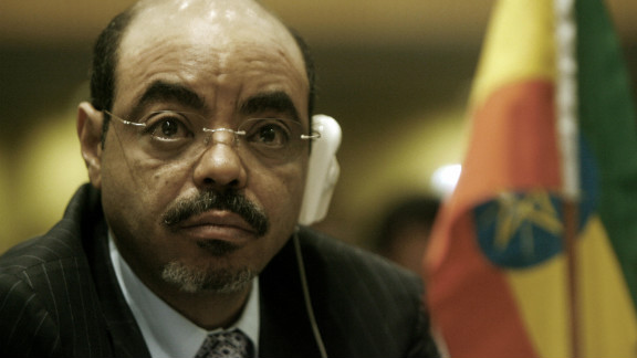 Meles Zenawi, the former Prime Minister of Ethiopia
