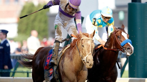 I'll Have Another, left, has one two races in the run for the Triple Crown.