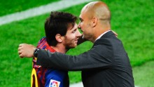 Could Lionel Messi join up with former coach Pep Guardiola at Manchester City?
