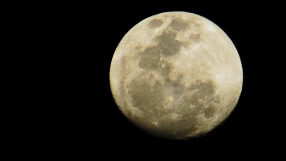 "In May 2012 Shari Neluka Atukorala, an iReporter in Kandy, Sri Lanka, said the moon ""was so bright that I could really see the markings on it quite close ... and yet so far."""