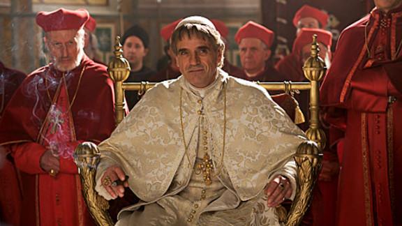 "Jeremy Irons, shown here as Rodrigo Borgia in the second season of ""The Borgias."""
