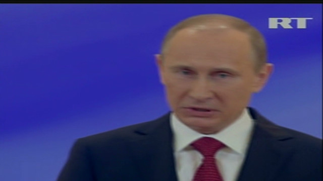 Putin back as Russian president