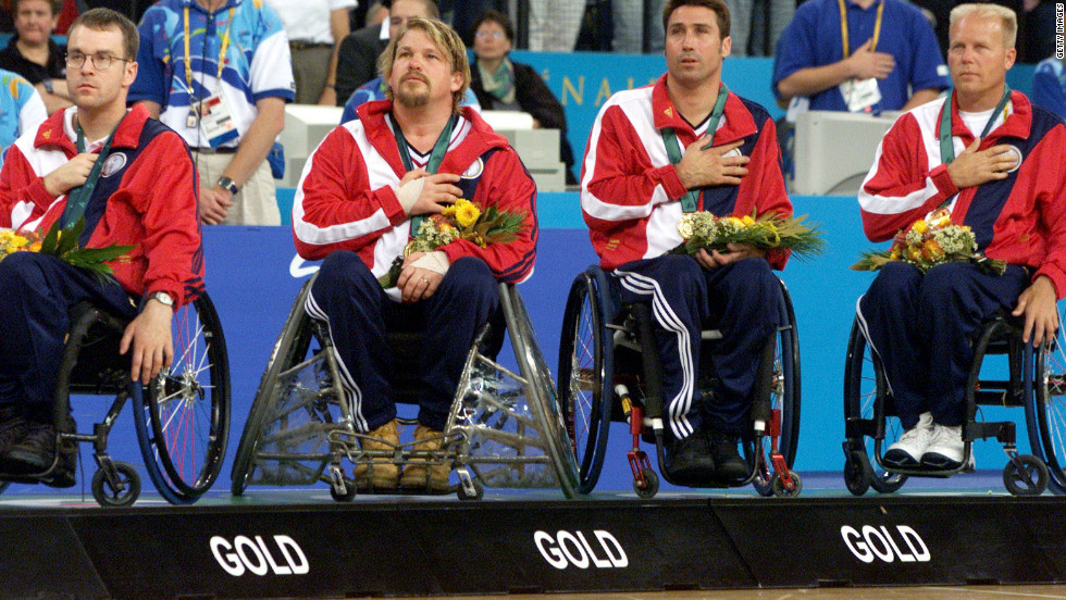The Americans won the sport's first Paralympic gold medal at Sydney 2000, beating Australia in the final.