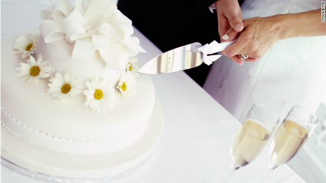 when should you cut wedding cake liberals should get marriage opinion cnn 27119