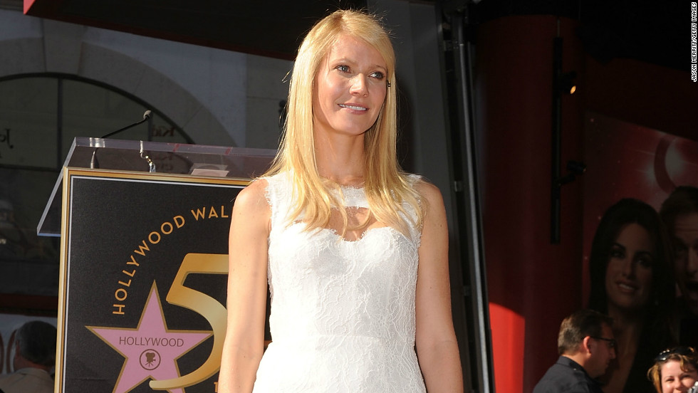 Actress and blogger Gwyneth Paltrow chose to wear Lhuillier when she was honored with a star on the Hollywood Walk Of Fame in 2010.