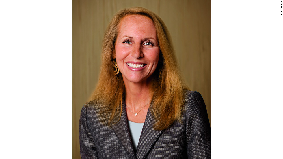 Carol Meyrowitz is the CEO of retail clothing firm TJX. The company ranked 115th in this year's Fortune 500 list.