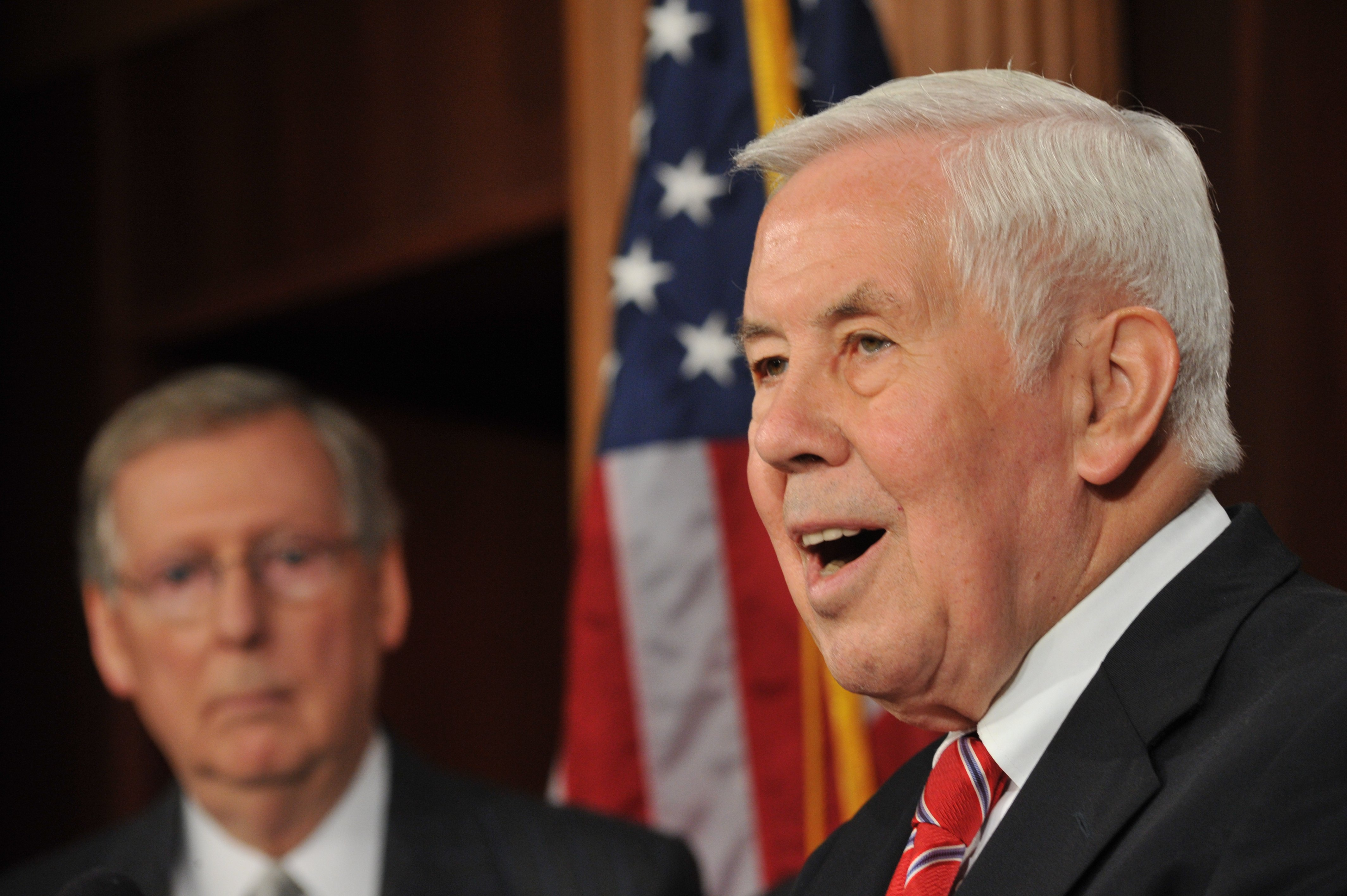 Sen. Lugar fights for political life