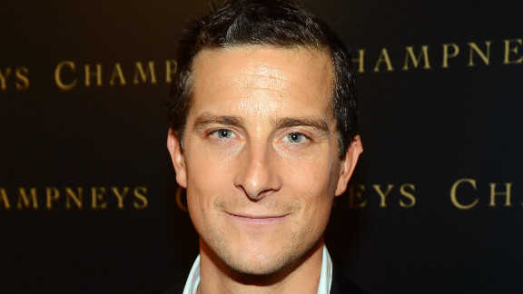 Bear Grylls has a new book out and a series of commercials.