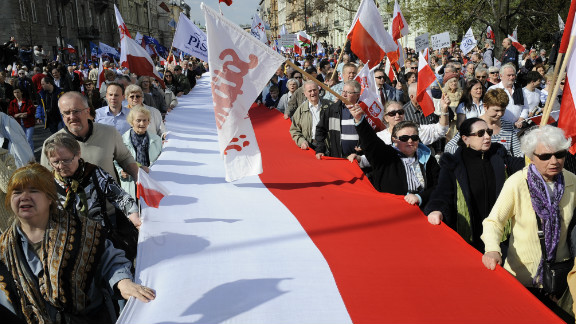Poland declared independence in 1918  following more than 120 years when it came under Russian, Prussian, and Austrian rule. Nazi Germany