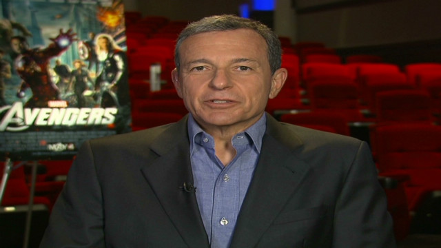 Disney boss talks earnings, 'Avengers'
