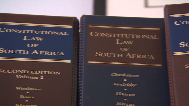 South Africa's constitution scrutinized