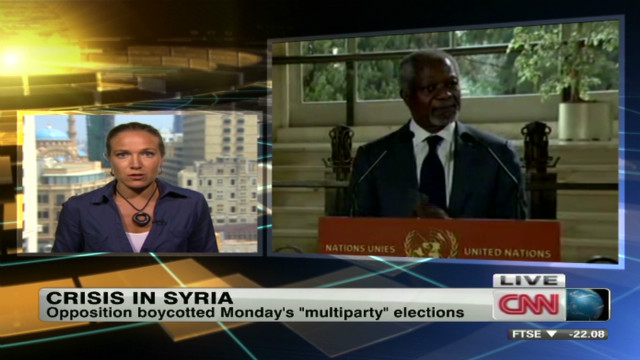Annan: Syria running out of options